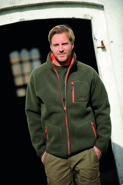 Jagdjacke fleece