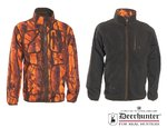 Wendejacke Fleecejacke braun / orange - GAMEKEEPER – DEERHUNTER